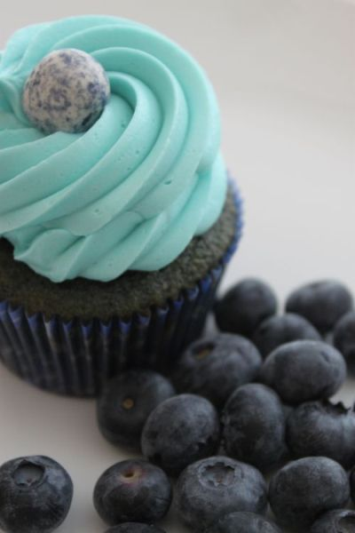 Post image for Blueberry Cupcakes