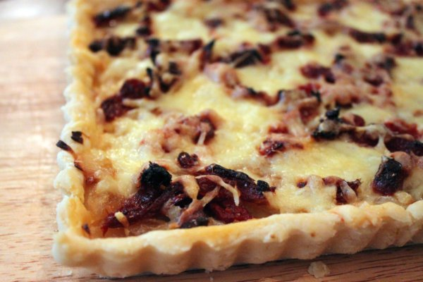 Post image for Eat. Live. Be with a Sundried Tomato Onion Tart