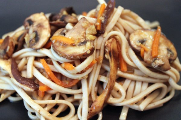 Post image for Mushroom Medley with Udon Noodles