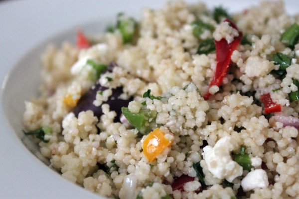 Mediterranean Couscous Salad Recipe — Dishmaps