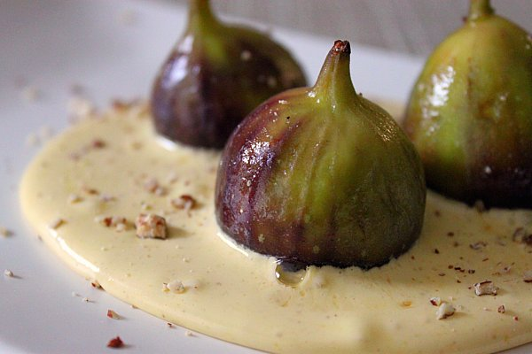 Post image for Honey Roasted Figs with Sabayon