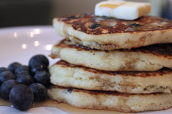 Post image for Blueberry Buttermilk Pancakes (Gluten-Free)
