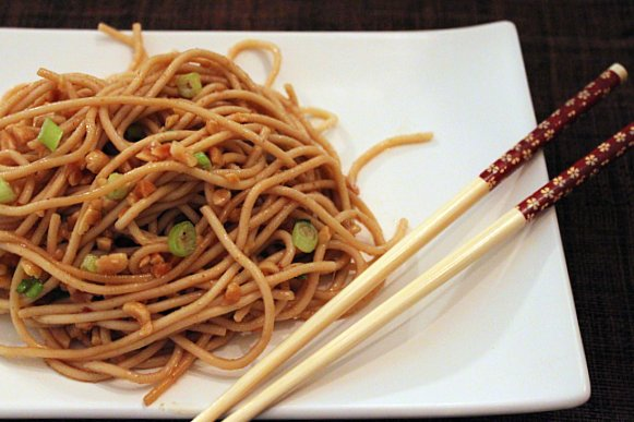 Post image for Peanut-Ginger Noodles
