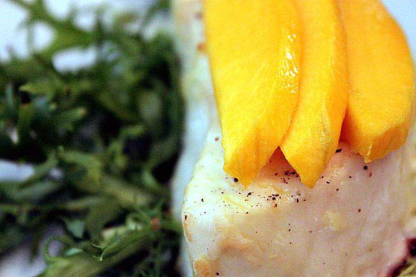 Post image for Mango Orange Sea Bass Recipe