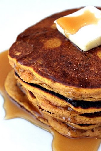 Post image for Pumpkin Pie Pancakes