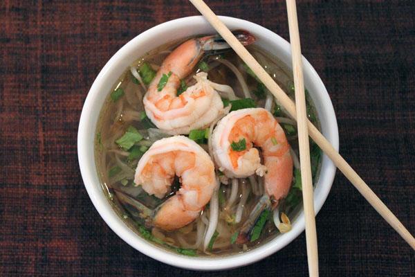 Post image for Vietnamese Shrimp Pho
