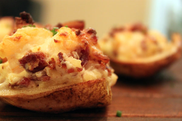 Post image for Shrimp & Bacon Stuffed Baby Potatoes