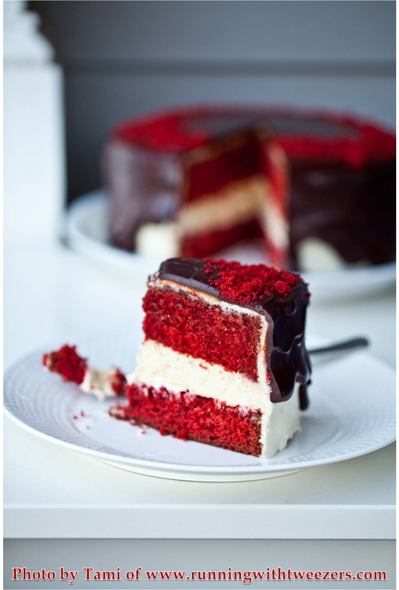 Red Velvet Cake with a Special Twist