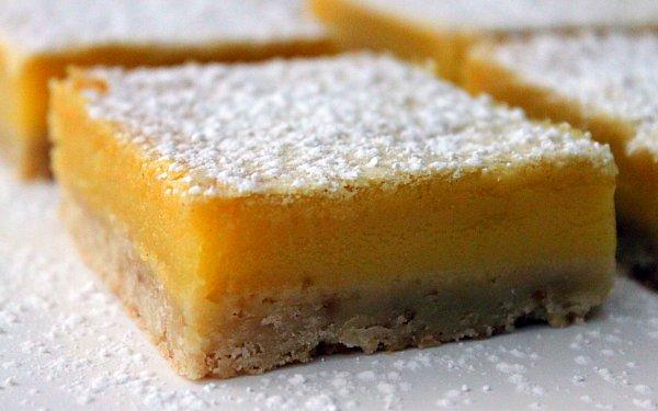 Chocolate Coated) Lemon Bars