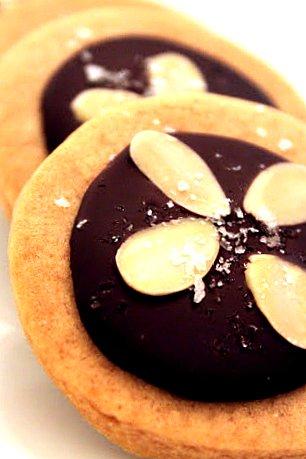 Salted Caramel Shortbread Cups Recipes — Dishmaps