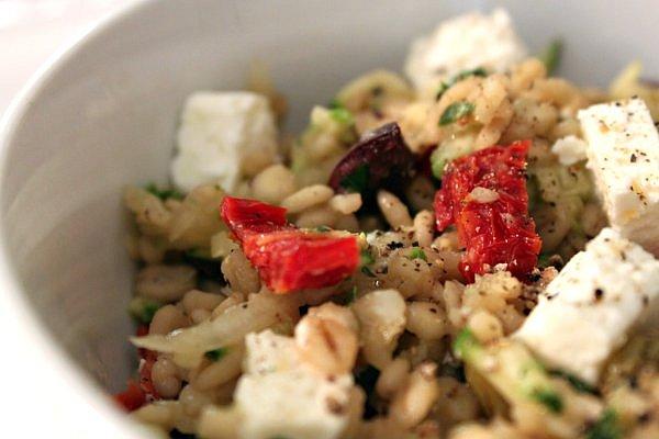 Post image for Sun-Dried Tomato, Feta, & Barley Salad