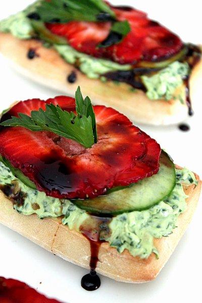 Strawberry Balsamic Flatbread Recipes — Dishmaps