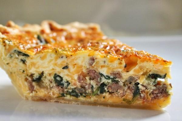 Post image for Sausage & Egg Pie