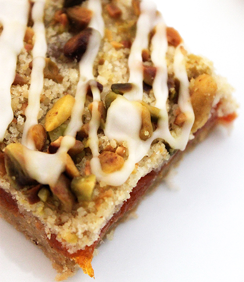 Post image for Spiked Apricot Squares