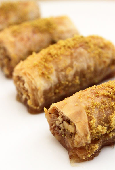 Baklava Crescent Rolls Recipe — Dishmaps